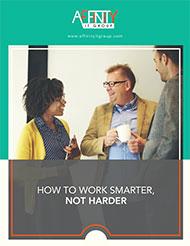 Affinity work smarter not harder